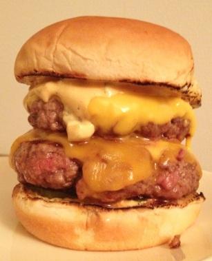 HUSK Burger Closeup