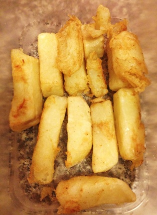 Triple Cooked Chips First Fry